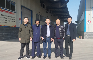 Welcome Bangladesh Customer Visiting for Feed Line