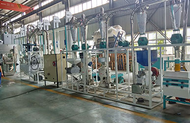 Maize Milling Machine will be delivered to Australia customer soon