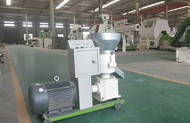 How to Solve the Problem of Discharging Powder During Small Feed Pellet Machine Pelleting